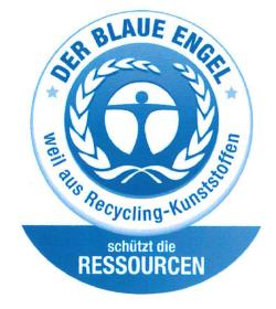 Zertifikat Der blaue Engel